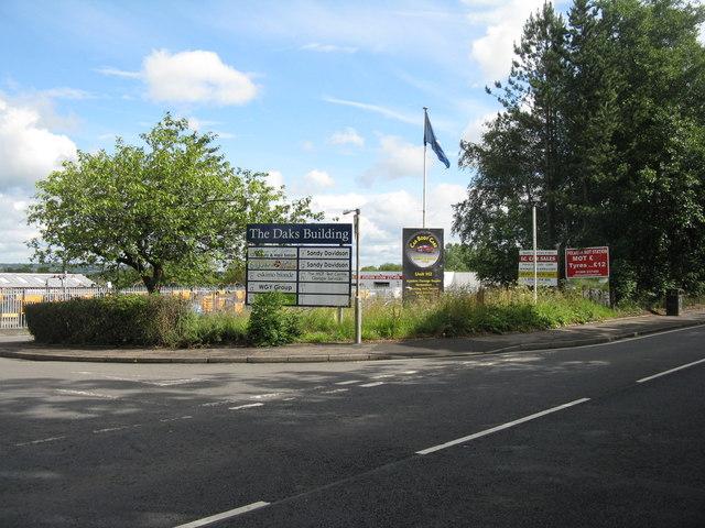 Polbeth Industrial Estate by M J Richardson