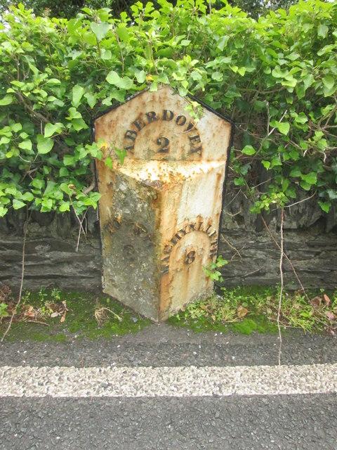 Mile Post - Aberdovey 2