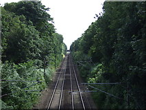 TG2202 : Norwich to London Railway by JThomas