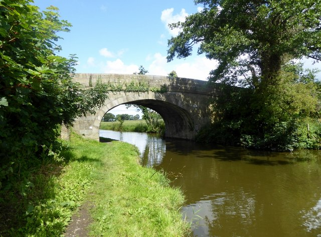 Bridge 49 on the Lancaster Canal