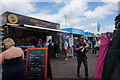 SP6741 : Fast food outlet at International Straight, Silverstone by Ian S