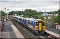 NY6820 : Leeds train at Appleby station by The Carlisle Kid