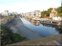 NT2472 : View of the Union Canal at Viewforth by David Hillas
