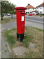TM1845 : 158, Colchester Road George V Postbox by Adrian Cable