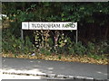 TM1745 : Tuddenham Road sign by Adrian Cable