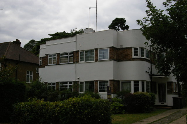 Semi-detached houses, Ravensmead Road