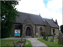 SK2566 : St Katharine, Rowsley: late July 2015 by Basher Eyre