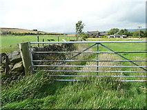 SE0322 : Field gate on Sowerby Bridge FP114 (Link B) by Humphrey Bolton