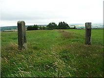 SE0322 : Disused gateway on Sowerby Bridge FP114 (Link A) by Humphrey Bolton
