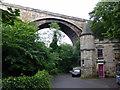 NT2473 : Bridge over Miller Row, Dean Village by PAUL FARMER
