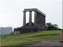 NT2674 : National Monument of Scotland, Calton Hill by PAUL FARMER