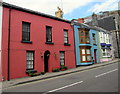 SN1014 : Colourful houses in Narberth by Jaggery