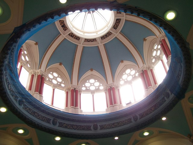 Dome at the Tesco Metro store in the Royal Avenue