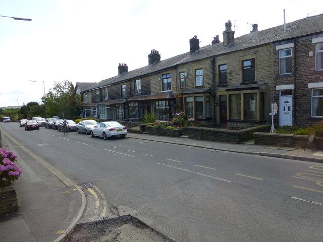 Darwen Road at Bromley Cross