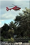 SJ3290 : North West Air Ambulance, G-NWAE, Seacombe by El Pollock