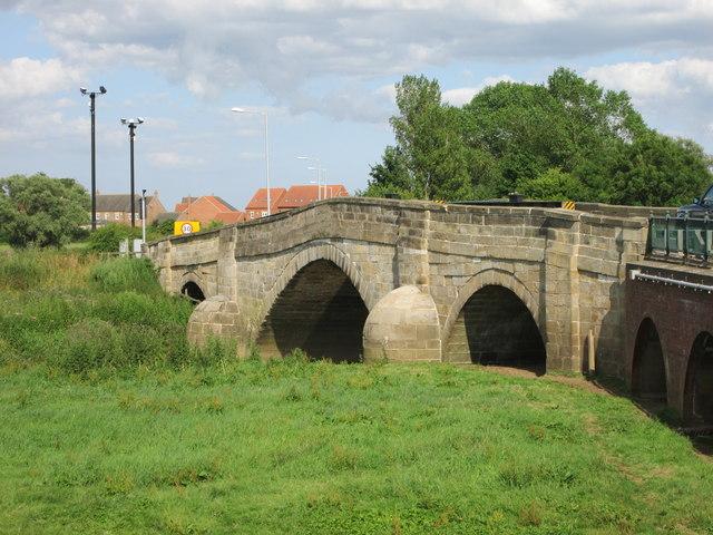 Built  in  1793  the  Derwent  Bridge  Bubwith