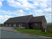 SK0267 : The highest village hall in England by Basher Eyre