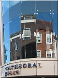 SO8554 : Cathedral Plaza reflection by Philip Halling