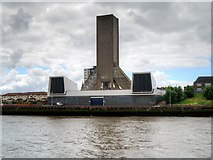 SJ3290 : Kingsway Tunnel Ventilation Shaft, Wallasey by David Dixon