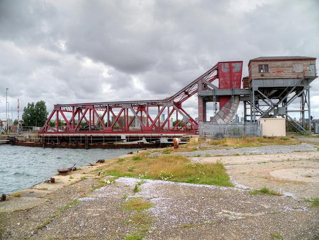 Tower Road Bascule Bridge, Birkenhead Docks