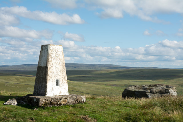 Trig point of Great Knipe