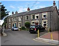 SN1014 : Row of four houses at the SW end of Church Street, Narberth by Jaggery