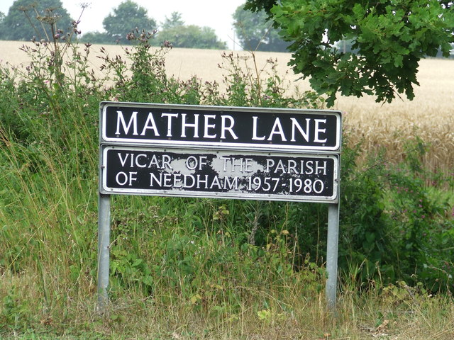 Road Name Sign