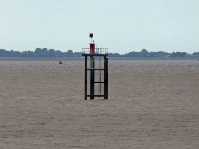 Navigation light in the Humber