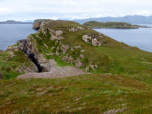 View Towards The NE Of Bottle Island