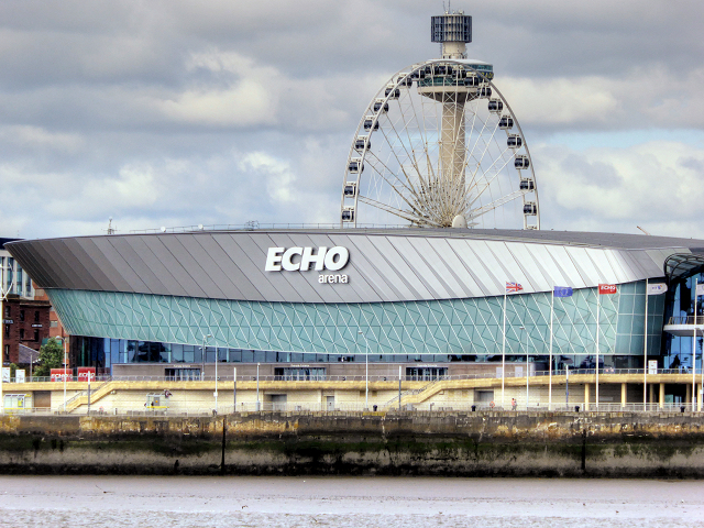Liverpool Echo Arena and Wheel of Liverpool