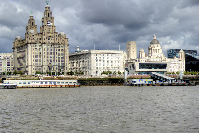 Liverpool Waterfront, The Three Graces