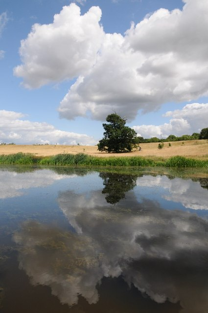 Cloud reflected in Croome River