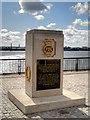 SJ3390 : Merchant Navy Memorial, Liverpool Pier Head by David Dixon