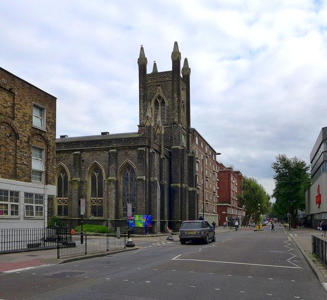 Eversholt Street and St Mary's