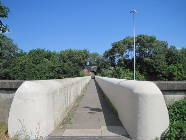 The Sausage Bridge over the M62