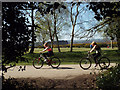 SP1096 : Wheels and walks, Sutton Park in spring by Robin Stott