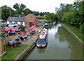 SP5972 : Grand Union Canal at Crick Wharf by Mat Fascione