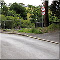 SN1114 : Private road - no parking, clamping in progress, Castle Terrace, Narberth by Jaggery