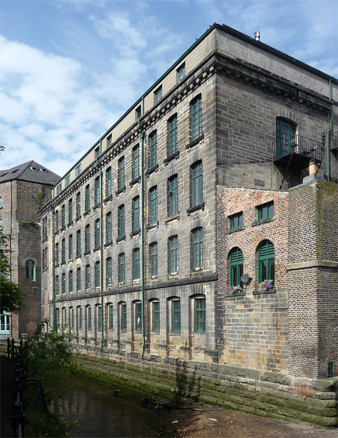 Former mill, Lime Street, Newcastle