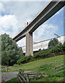 NZ2664 : Metro viaduct, Newcastle by Stephen Richards