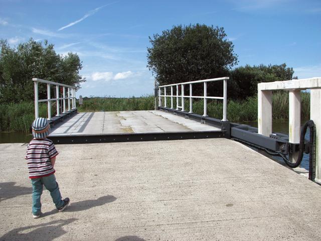 The new bridge at Martham Ferry
