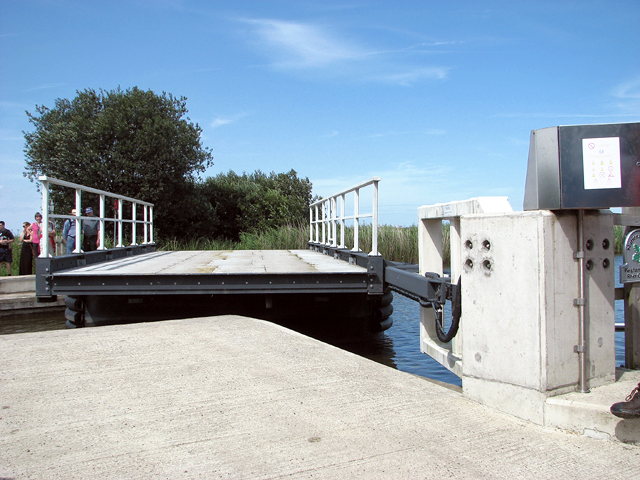 The new bridge at Martham Ferry