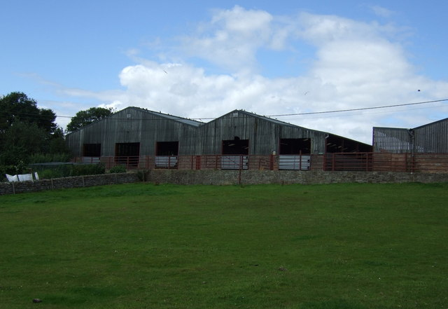 Farm buildings, East Horton