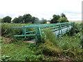 SE7511 : Footbridge over Old Godnow Drain by Graham Hogg