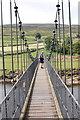 SE0398 : Reeth Swing Bridge by Bill Harrison