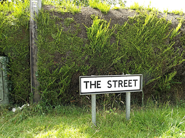 The Street sign