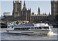 TQ3079 : 'Silver Bonito' on the River Thames by Rossographer