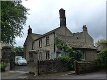 SK2381 : St Michael, Hathersage: the old vicage by Basher Eyre