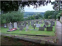 SK2381 : St Michael, Hathersage: churchyard (iv) by Basher Eyre