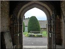 SK2381 : St Michael, Hathersage: churchyard (ix) by Basher Eyre
